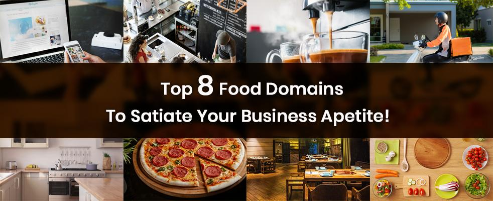 Top 8 Food Domains To Satiate Your Business Appetite ConnectReseller banner